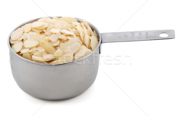 Americano metal taza medida aislado Foto stock © sarahdoow