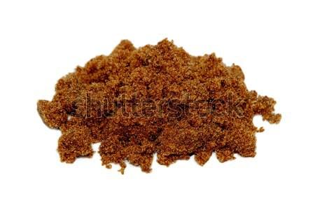 Pile of dark brown soft sugar Stock photo © sarahdoow