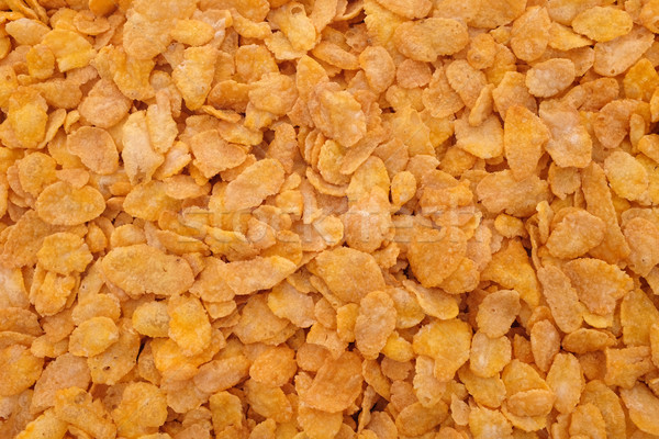 Corn flakes breakfast cereal background Stock photo © sarahdoow