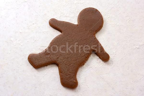 Forma cookie alimentos panadería Foto stock © sarahdoow