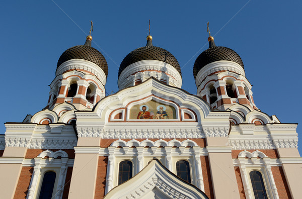 Exterior of Alexander Nevsky Cathedral in Tallinn, Estonia  Stock photo © sarahdoow