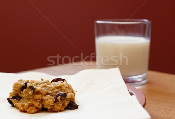 изюм Cookie стекла Сток-фото © sarahdoow
