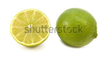 Egész friss citrus vág fél gyümölcs Stock fotó © sarahdoow