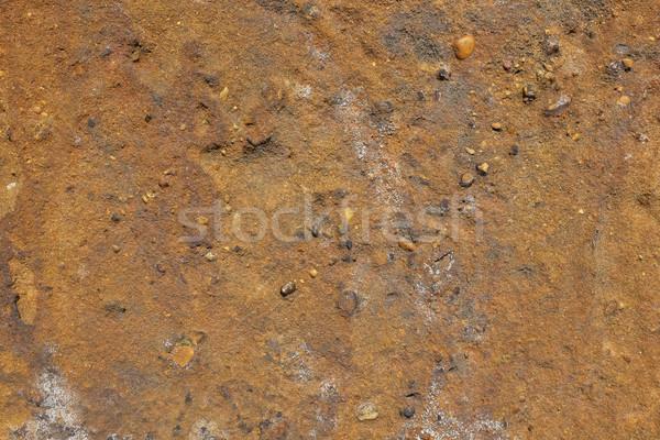 коричневый песчаник аннотация текстуры небольшой Сток-фото © sarahdoow