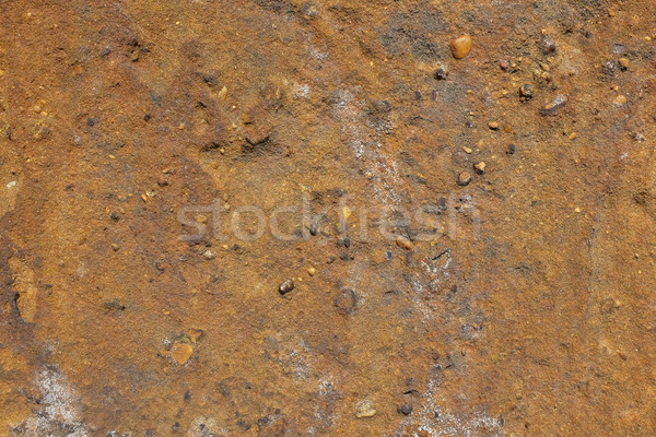 Gritty golden brown sandstone Stock photo © sarahdoow
