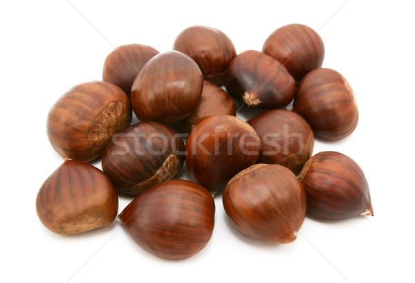 édes kagylók izolált fehér étel kagyló Stock fotó © sarahdoow
