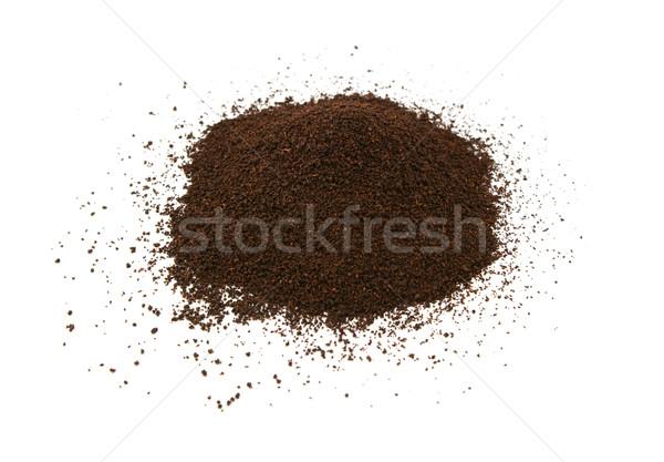 Bő levél tea izolált fehér étel Stock fotó © sarahdoow