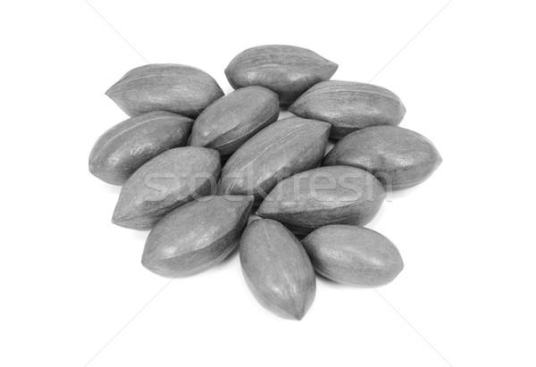 Pecan nuts in shells Stock photo © sarahdoow