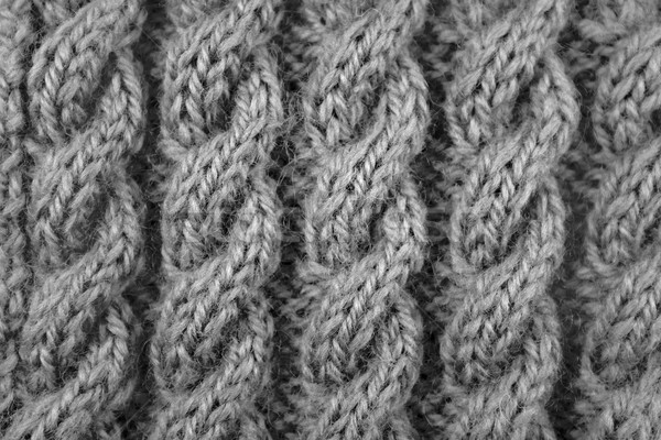 Closeup of cable knitting stitch Stock photo © sarahdoow