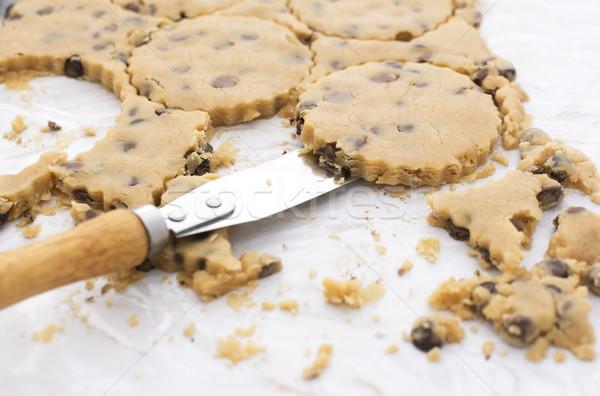 палитра ножом Cookies кухне Сток-фото © sarahdoow