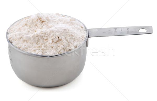 Propósito farinha americano metal copo Foto stock © sarahdoow
