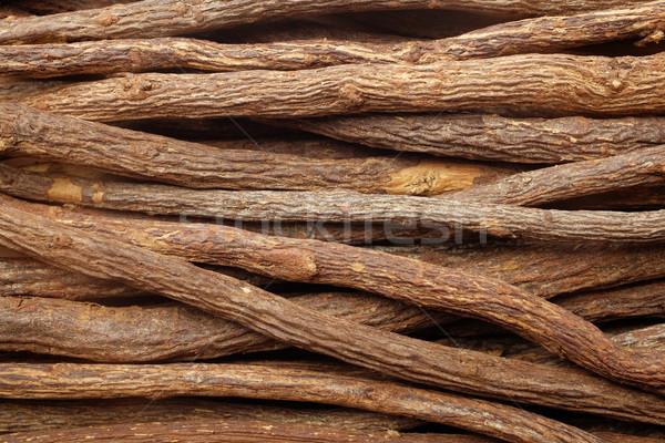 Lukrecja korzeń sztuk streszczenie tekstury Zdjęcia stock © sarahdoow
