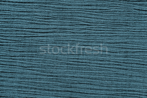 Blue crinkled material background texture Stock photo © sarahdoow