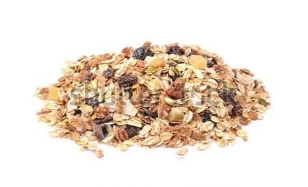 ミューズリー 穀物 種子 混合した フルーツ ストックフォト © sarahdoow