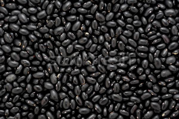 Fekete teknős bab absztrakt textúra háttér Stock fotó © sarahdoow