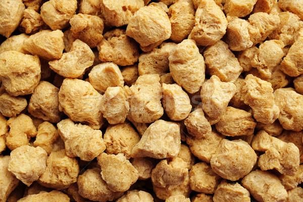 Soya protein chunks background Stock photo © sarahdoow
