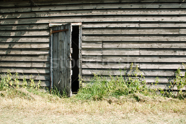 Rustic wooden farm building Stock photo © sarahdoow