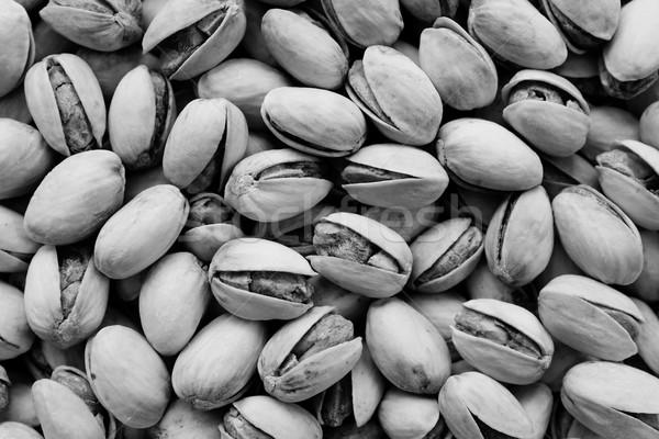 Pörkölt sózott kagylók absztrakt textúra monokróm Stock fotó © sarahdoow