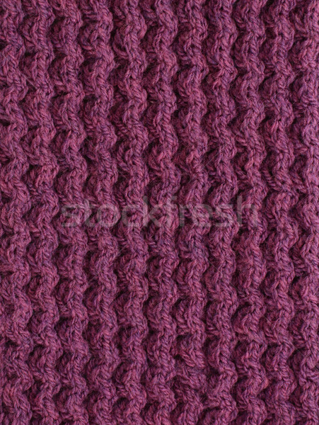 Purple cable knitting stitch  Stock photo © sarahdoow