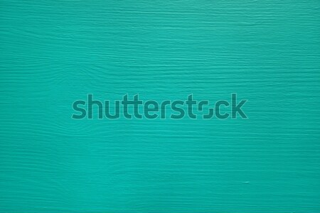 Stock photo: Pine board painted teal
