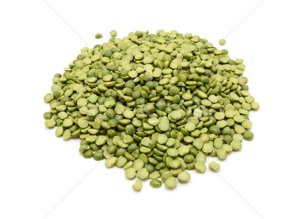 Dried green split peas Stock photo © sarahdoow