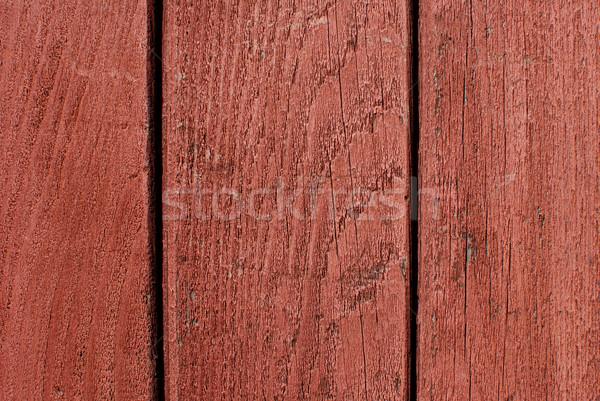 Foto d'archivio: Rosso · verniciato · legno · abstract · texture · sfondo