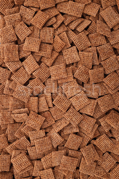 Malted shredded wheat biscuits background Stock photo © sarahdoow