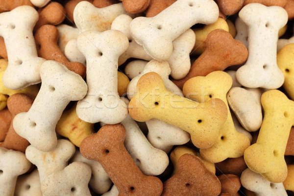 Stockfoto: Hoop · gedroogd · biscuits · abstract · textuur