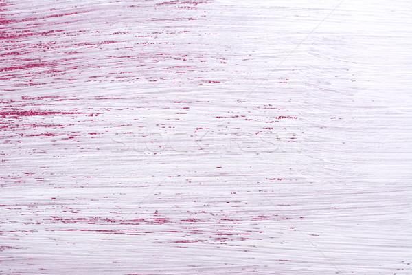 Rêche blanche peinture rose Photo stock © sarahdoow