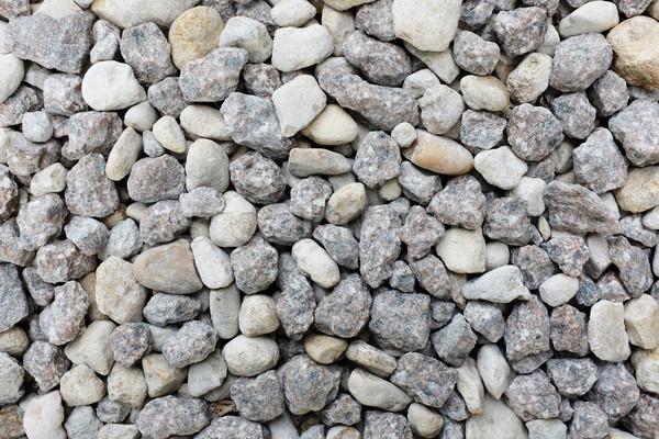 Grey and white crushed granite rock  Stock photo © sarahdoow