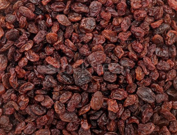 Passas de uva abstrato textura comida fruto fundo Foto stock © sarahdoow