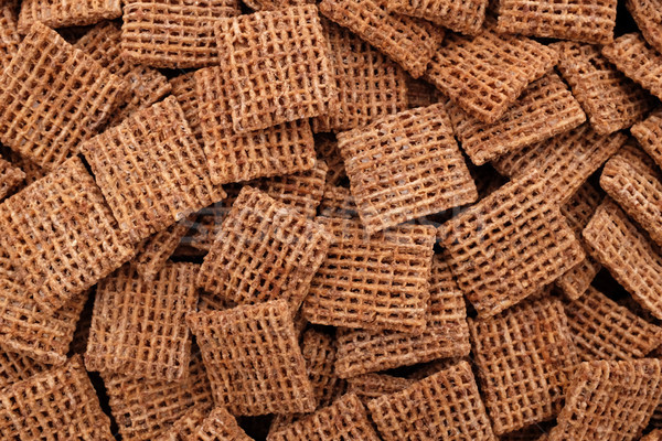 Malted wheat biscuits breakfast cereal background Stock photo © sarahdoow