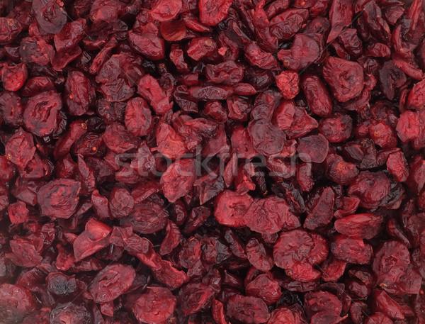 Aszalt áfonya absztrakt textúra étel háttér Stock fotó © sarahdoow
