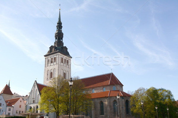 St Nicholas Church in Tallinn, Estonia Stock photo © sarahdoow