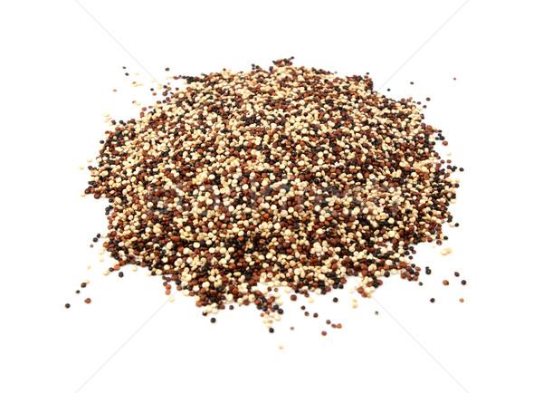 Mixed red, white and black quinoa Stock photo © sarahdoow