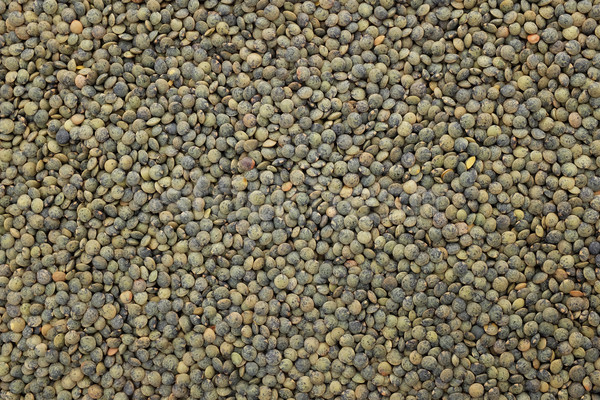 Dark green lentils background  Stock photo © sarahdoow