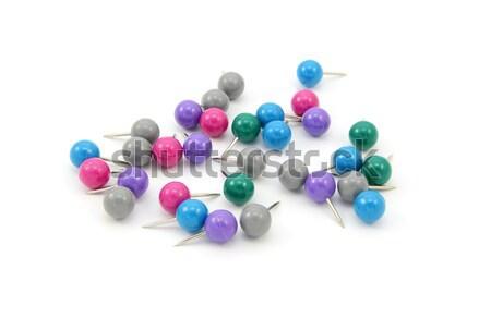 Assortment of drawing pins Stock photo © sarahdoow