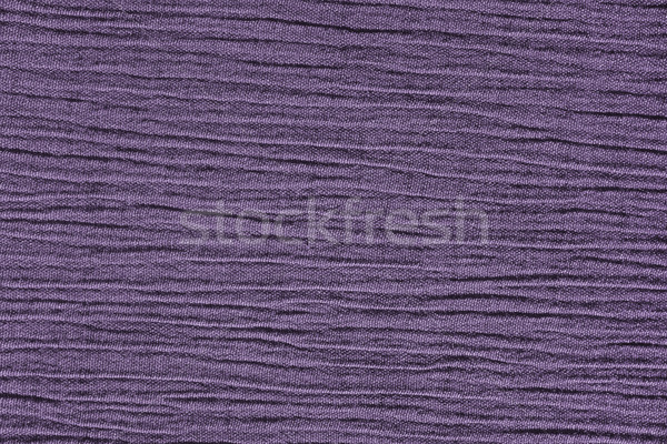 Heather purple crinkled material background texture Stock photo © sarahdoow