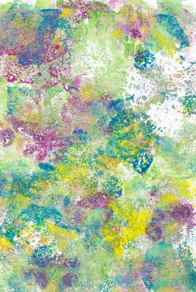 抽象的な 色とりどりの 塗料 紙 背景 ストックフォト © sarahdoow