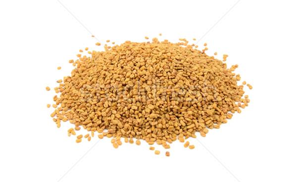 Dried fenugreek seeds Stock photo © sarahdoow