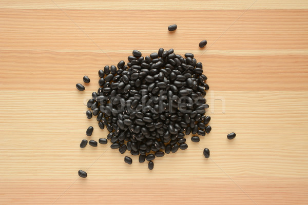 Foto stock: Preto · tartaruga · feijões · madeira · textura · grão