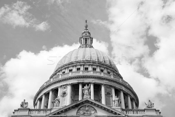 ストックフォト: クローズアップ · ドーム · 大聖堂 · ロンドン · イングランド