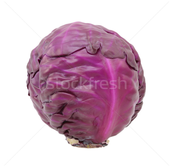 Whole raw red cabbage Stock photo © sarahdoow