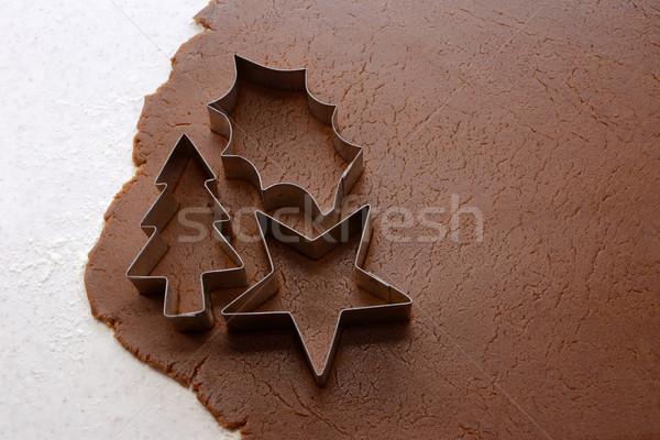Stockfoto: Uit · christmas · peperkoek · kerstboom