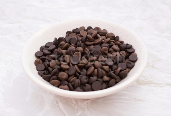 Stockfoto: Schotel · melk · pure · chocola · chips · China · keuken