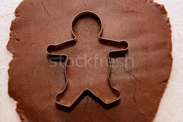 из Колобок Cookie продовольствие хлебобулочные Сток-фото © sarahdoow