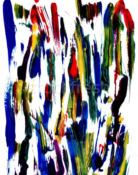 Abstract smears of paint Stock photo © sarahdoow