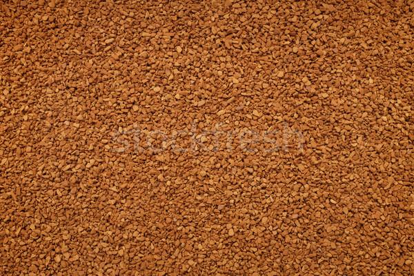 растворимый кофе аннотация текстуры кофе пить макроса Сток-фото © sarahdoow