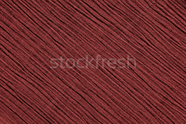 Red crinkled fabric background texture Stock photo © sarahdoow