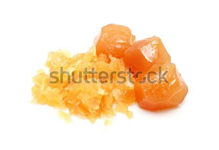 全体 幹 生姜 孤立した 白 食品 ストックフォト © sarahdoow